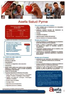 thumbnail of Tarifa Pyme Asefa